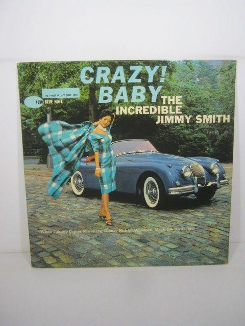 【ジャズレコード】Jimmy Smith 「Crazy Baby!」ブルーノートの買取りはレコちゃんカンパニー
