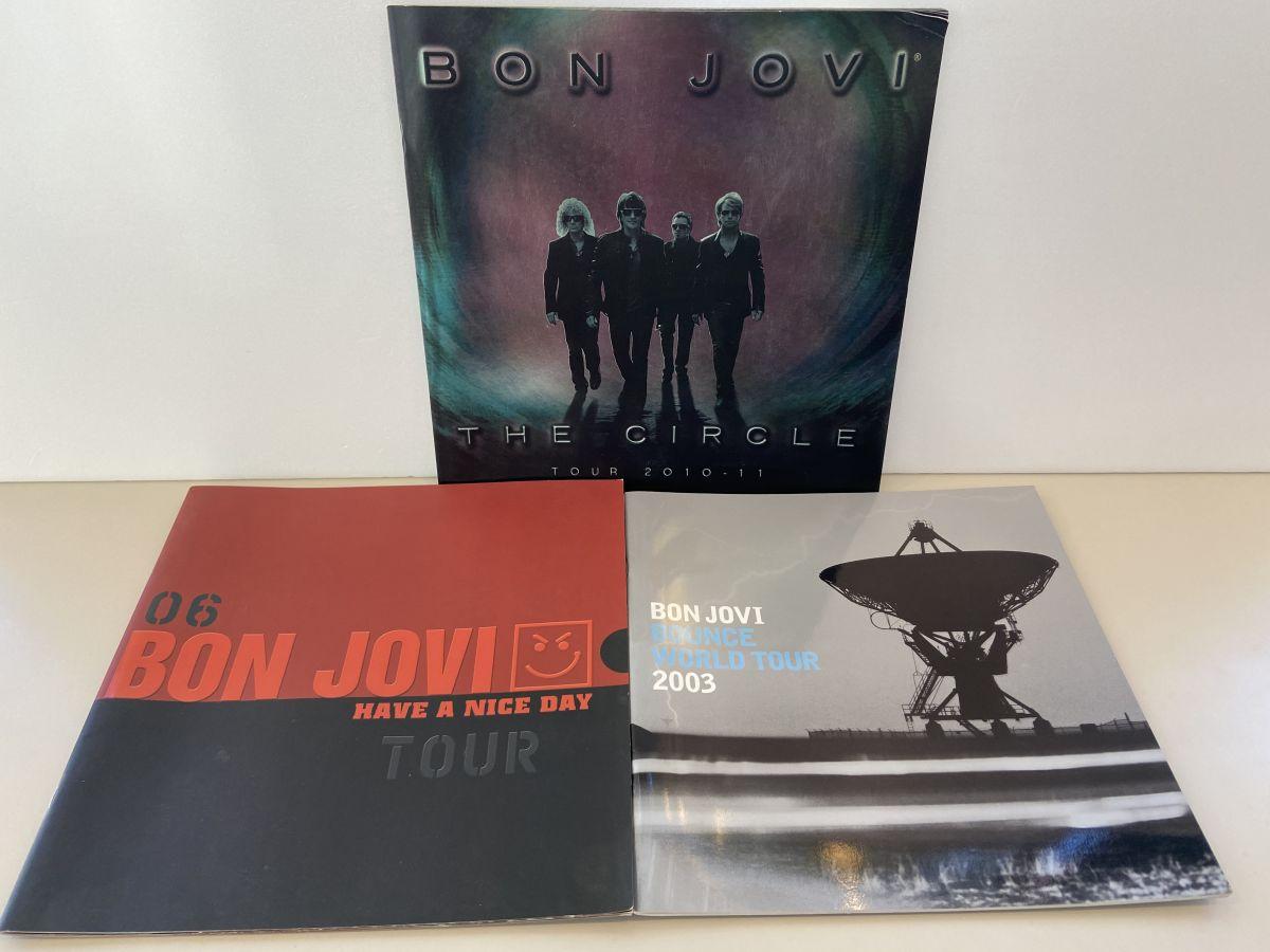 【BONJOVIパンフレット情報】BONJOVIライブパンフレットの買取りはレコちゃんカンパニーにお任せ