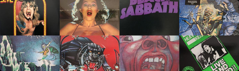 ハードロック、ヘヴィメタルのレコード&CD
