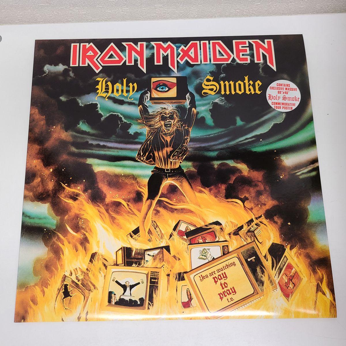 【レコード買取】Iron Maiden / Holy Smoke 買取り実績