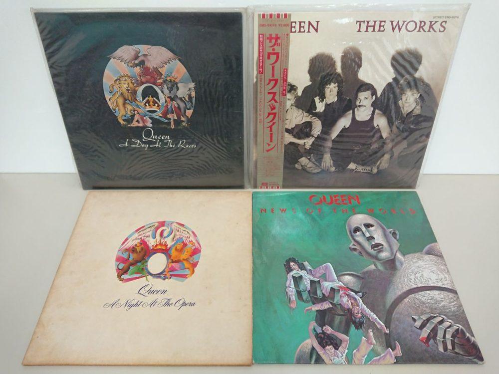 酒々井店でQUEENのレコードを店頭買取